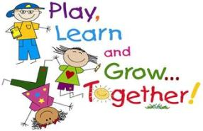 kindergarten_play_learn_grow_together_clip_art